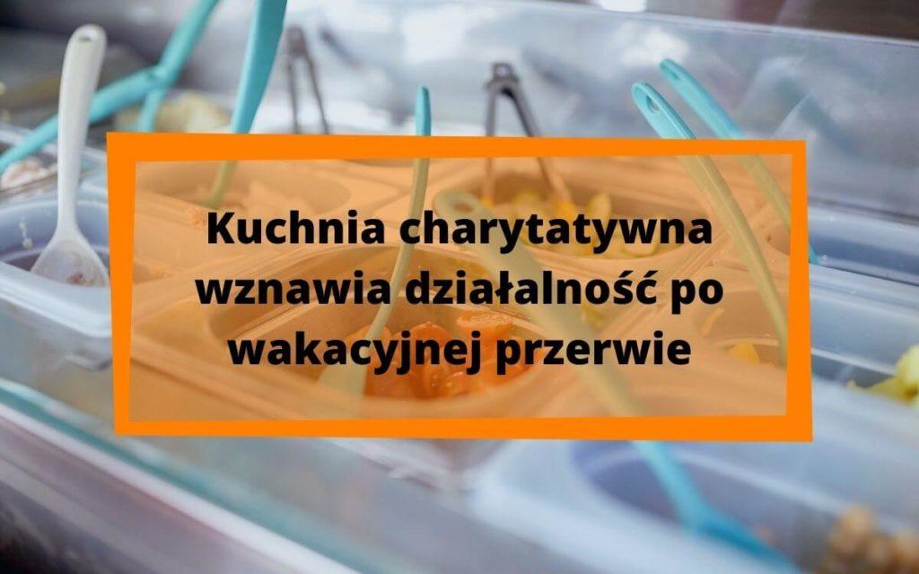 kuchania charytatywna przy wrocławskiej fundacji Sancta Familia wznawia działalność po wakacyjnej przerwie